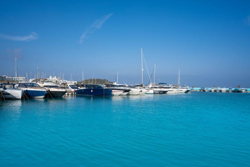 puertos deportivos de Ibiza